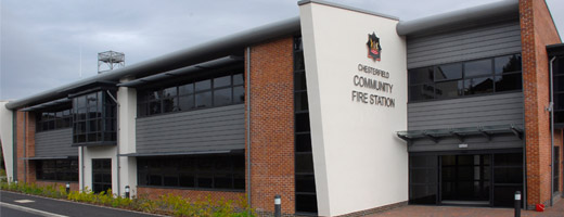 Chesterfield Fire Station - Planning and Landscape Architecture