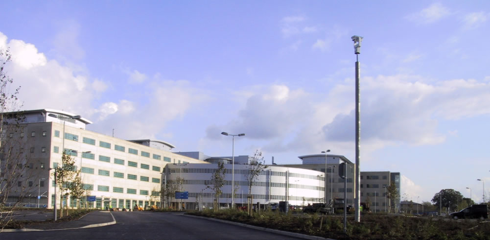Great Western Hospital Planning and Architecture
