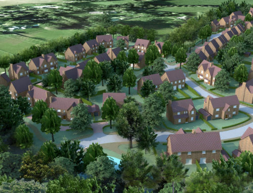 95 dwelling scheme granted on appeal at Thames Farm, Shiplake, Oxfordshire