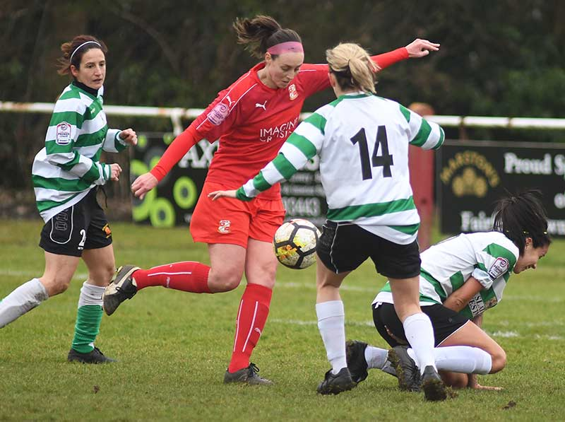 ©Calyx Picture Agency Swindon Town Ladies v Keynsham Ladies